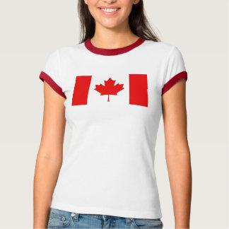 Camisa del campanero de los chicas de la bandera