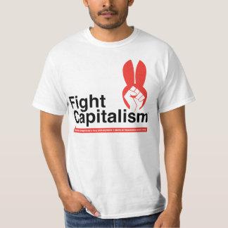 Camisa del capitalismo de la lucha