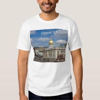 Camisa del capitolio del estado de Trenton