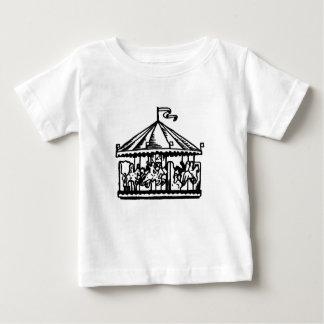 Camisa del carrusel del vintage