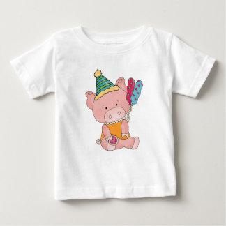 Camisa del cerdo de la fiesta de cumpleaños