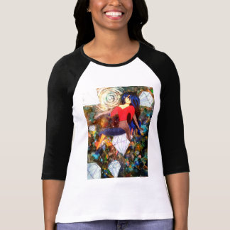 Camisa del chica de la galaxia del animado