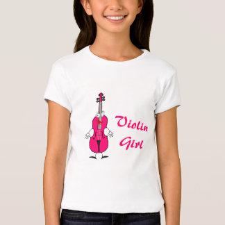 Camisa del chica del violín