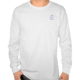 Camisa del club náutico del ancla