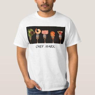 Camisa del cocinero del restaurante