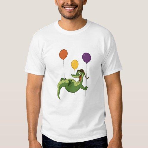 Camisa del cocodrilo del vuelo