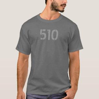 Camisa del código de área 510