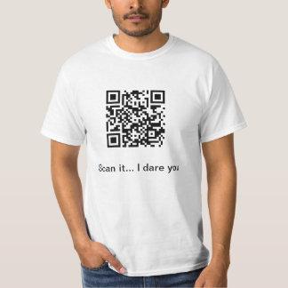 Camisa del código de QR