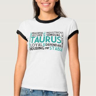 Camisa del collage de la palabra del tauro