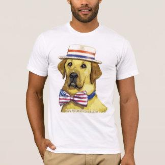 Camisa del color del perro amarillo