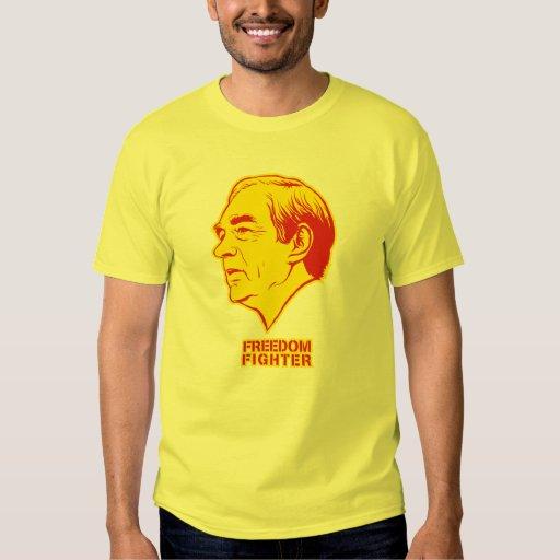 Camisa del combatiente de la libertad de Ron Paul