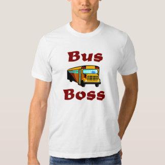 Camisa del conductor del autobús escolar