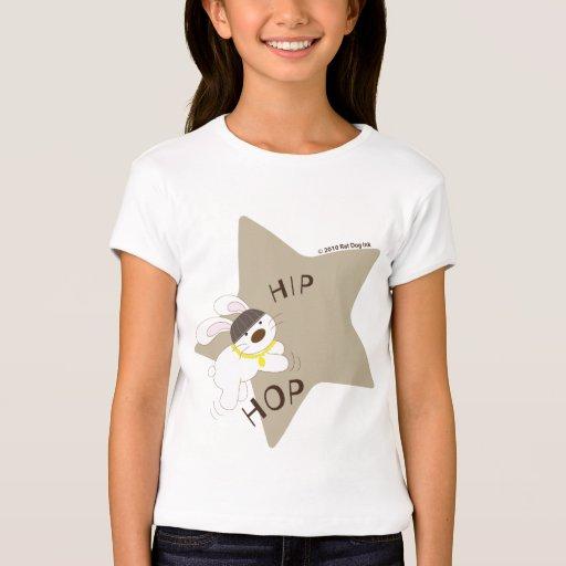 Camisa del conejito de la estrella de Hip Hop