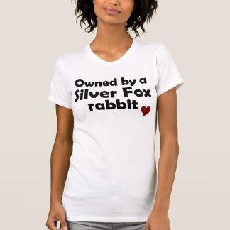 Camisa del conejo del zorro plateado