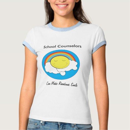 Camisa del consejero de la escuela
