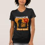 Camisa del convenio del naranja de HorrorCon 13