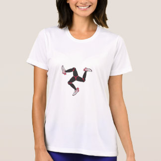 Camisa del corredor de las mujeres de la Isla de