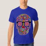 Camisa del cráneo del azúcar del inconformista -