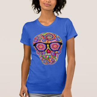 Camisa del cráneo del azúcar del inconformista - d