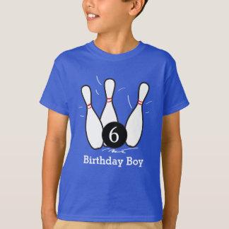 Camisa del cumpleaños de los bolos - oscuridad