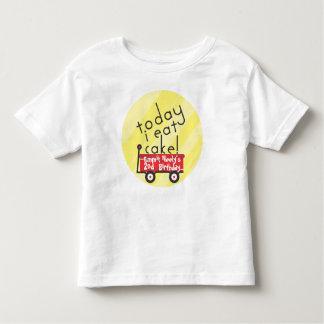 Camisa del cumpleaños del carro