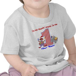 Camisa del cumpleaños del payaso de Cirus 1ra