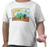 Camisa del cumpleaños del tractor