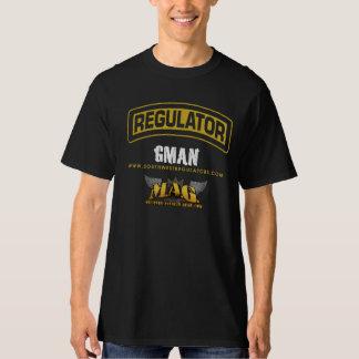 Camisa del deber del REG/MAG del GMAN