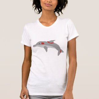 Camisa del delfín de la hawaiana