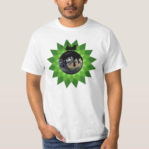 Camisa del derrame de petróleo