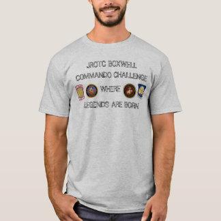 Camisa del desafío del comando de Boxwell