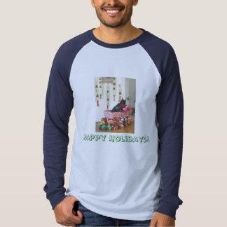 Camisa del día de fiesta del Doberman