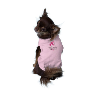 Camisa del día de la raza del perrito del milagro ropa de perros
