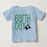 camisa del Día de la Tierra del bebé
