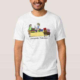 Camisa del dibujo animado de la compra de Luisiana