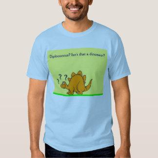 Camisa del dinosaurio de la microbiología
