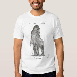 Camisa del dinosaurio del Ouranosaurus de Greg Pau