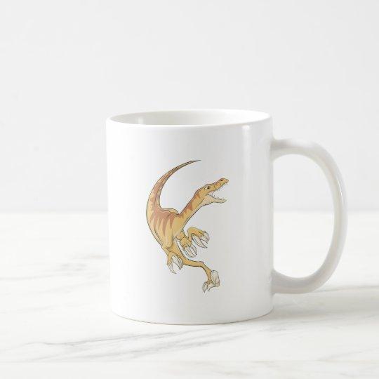 Camisa del dinosaurio del Velociraptor Taza De Café
