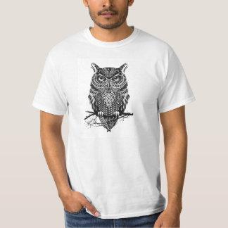 Camisa del diseño del búho