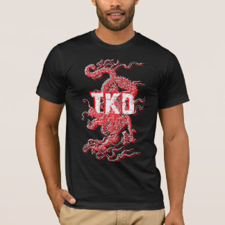 Camisa del dragón del Taekwondo