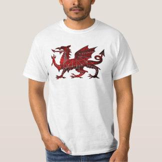 Camisa del dragón Galés