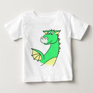 Camisa del dragón verde