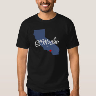 Camisa del EL Monte California CA