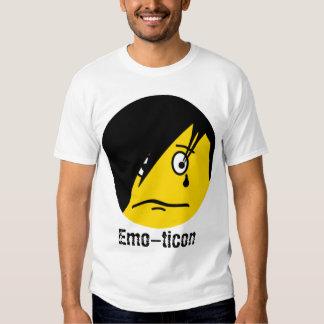 Camisa del Emoticon de Emo