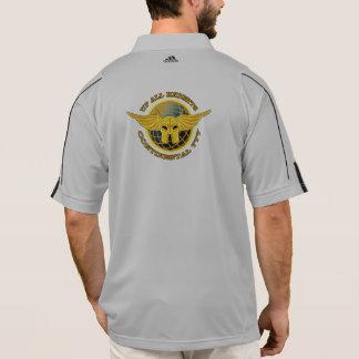 Camisa del entrenamiento de la Mitad-cremallera de