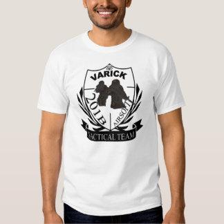 camisa del EQUIPO 201b de la CALLE AIRSOFT del vAR