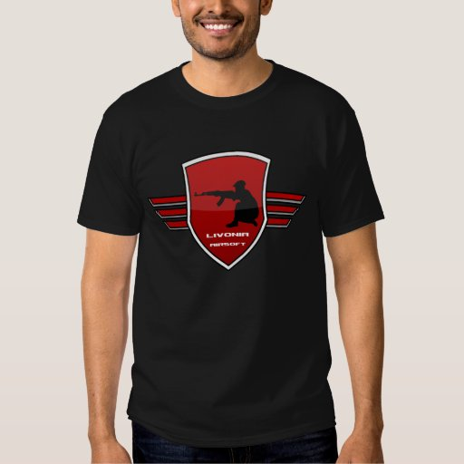 Camisa del equipo de Airsoft del Livonia - Miller