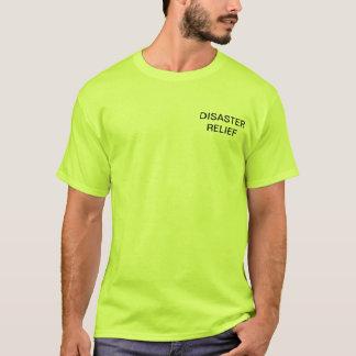 Camisa del equipo de ayuda humanitaria - verde de