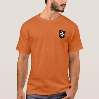Camisa del escudo de Hospitaller de los caballeros
