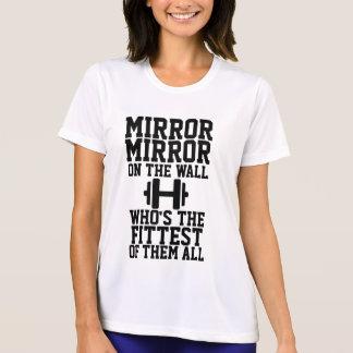 Camisa del espejo del espejo